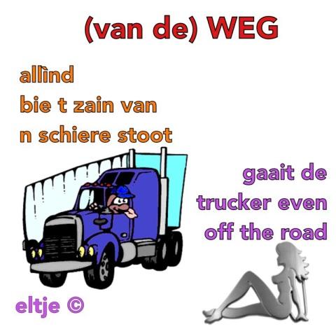 (van de) WEG (van)