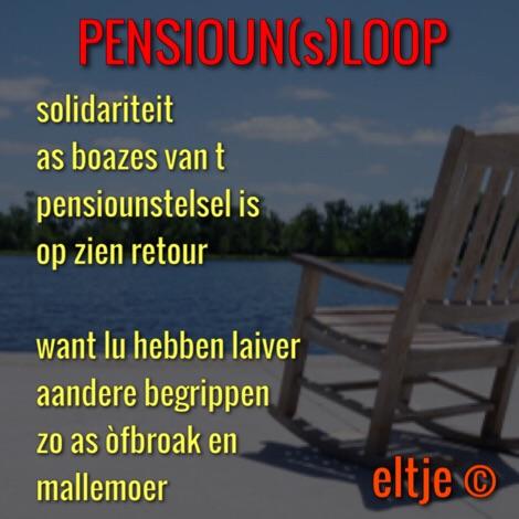 Pensioen(s)loop