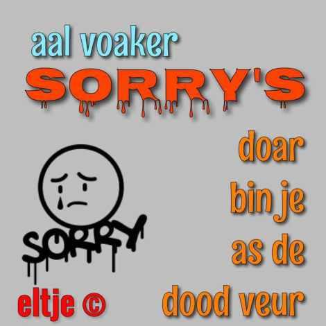 Sorry's