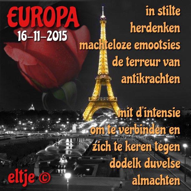 Europa herdenking