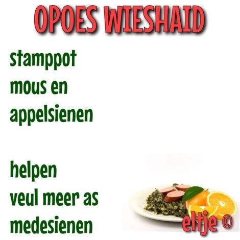 Opoes wieshaid