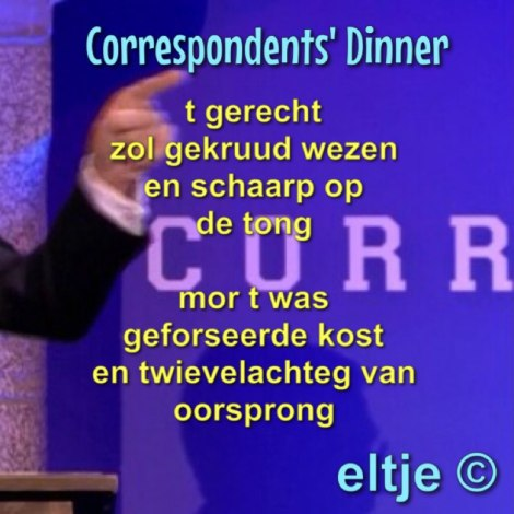 Correspondents' Dinner