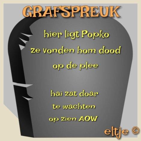 Grafspreuk