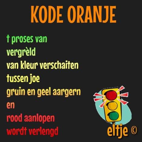 Kode oranje