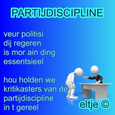 Partijdiscipline