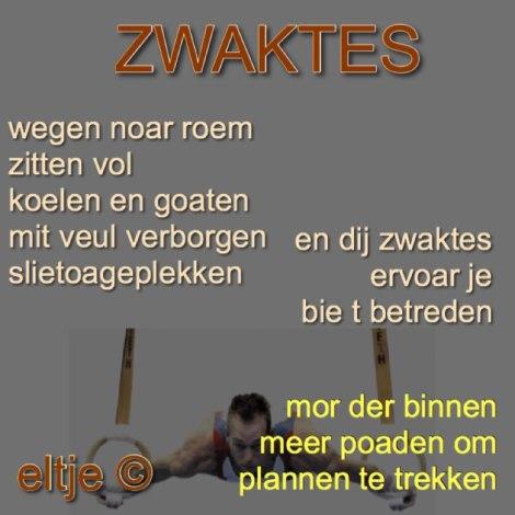 Zwaktes