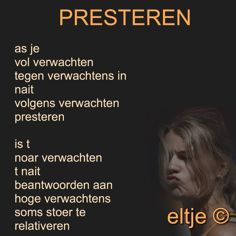 Presteren
